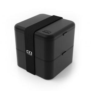 MONBENTO-MBSquare bentobox zwart