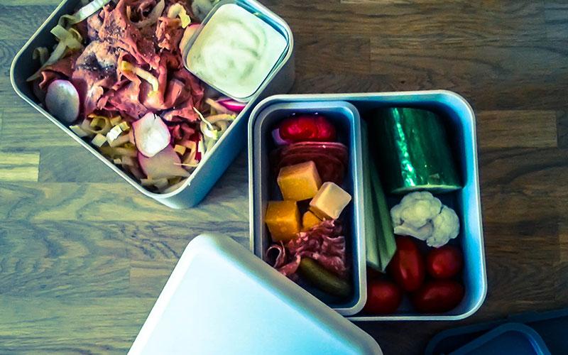 Witlof salade uit weekmenu 1 | gobento.nl