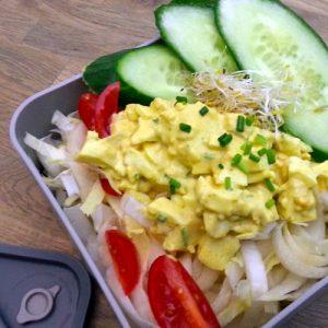 Witlof ei salade