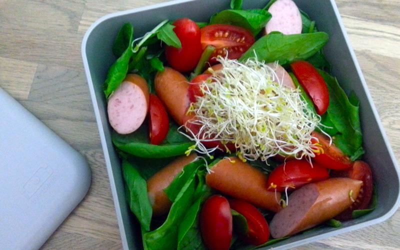 Knakworst salade