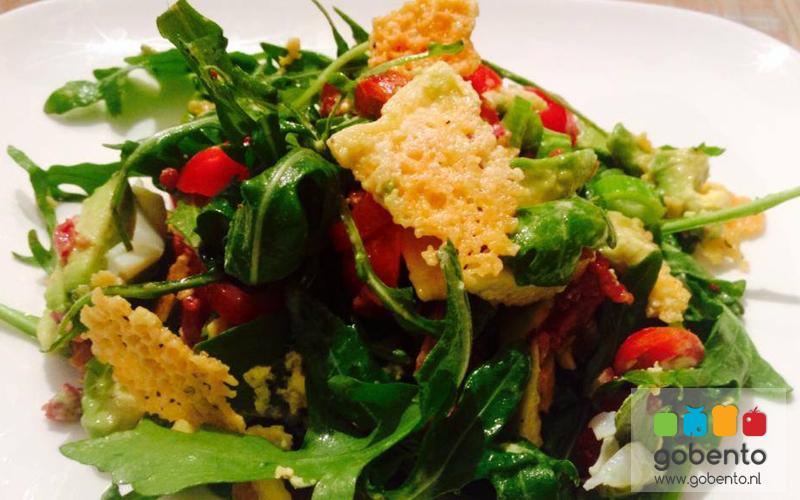 Salade kaas en avocado
