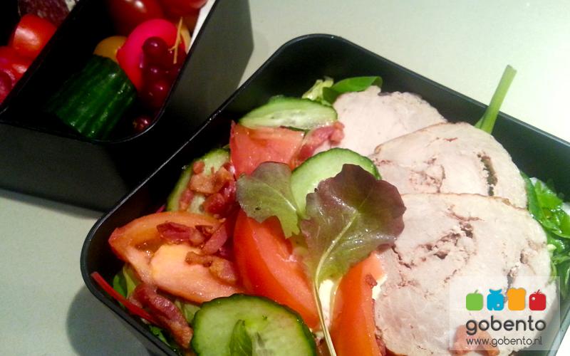Salade met rollade