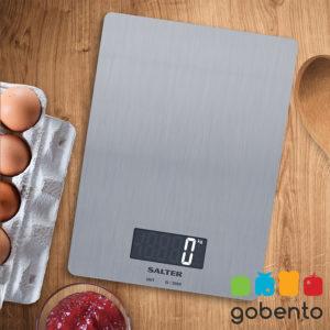 Salter 1103 keukenweegschaal rvs
